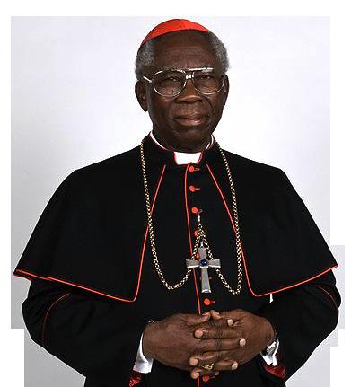 Cardeal Francis Arinze (foto: p. Mimmo Spatuzzi / wikimedia)
