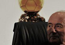 O presidente da FIFA, Joseph Sepp Blatter