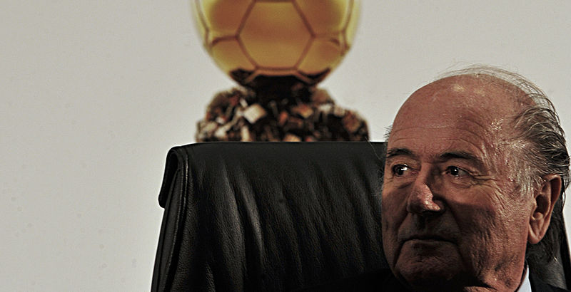 Presidente da FIfa, Sepp Blatter (foto: Marcello Casal Jr./ABr)