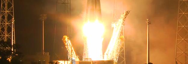 Lançamento do satélite Gaia (foto: reprodução / ESA)
