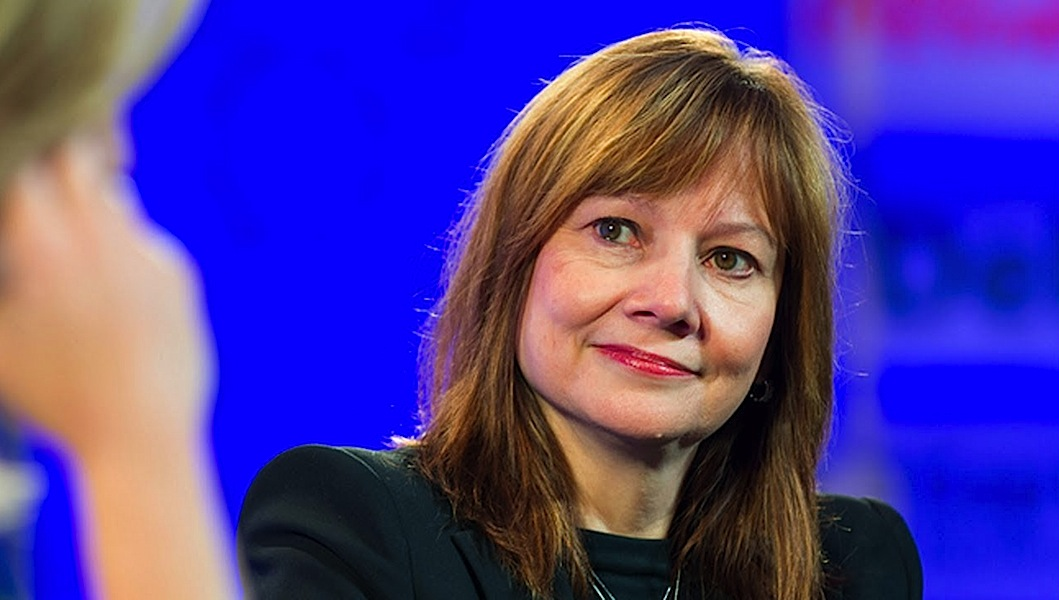 Mary Barra, CEO da General Motors (foto: YT/Fortune)