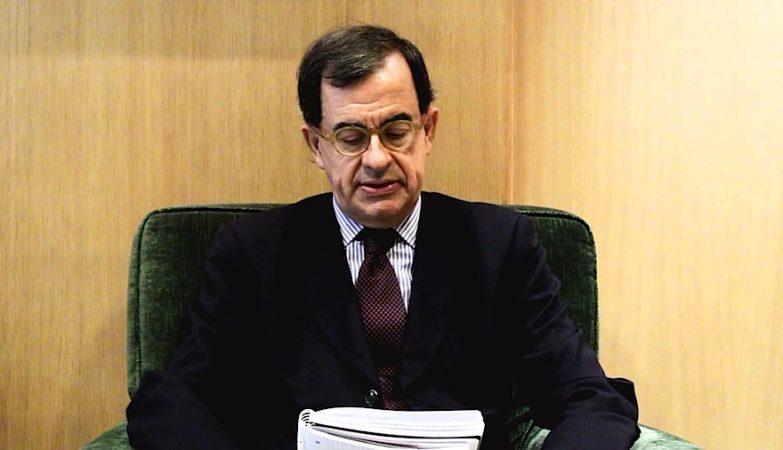 O presidente do Tribunal de Contas, Guilherme d'Oliveira Martins