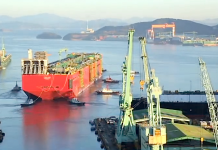 O Prelude, a maior embarcação do mundo (foto: YouTube/TODAYonline)