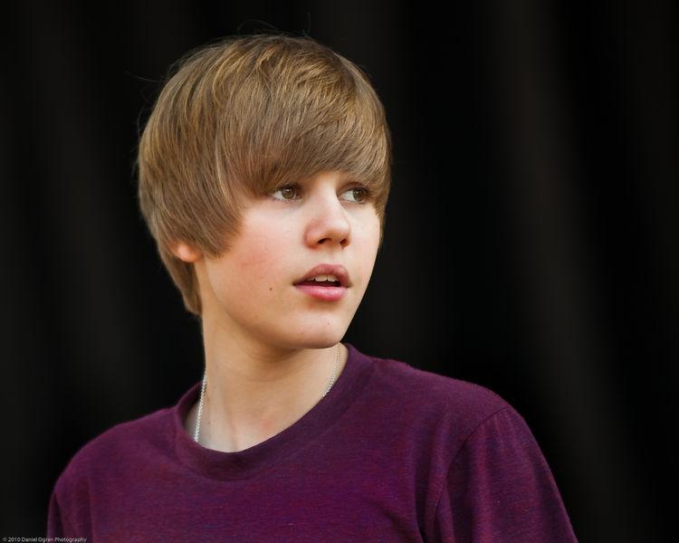 Justin Bieber em 2010