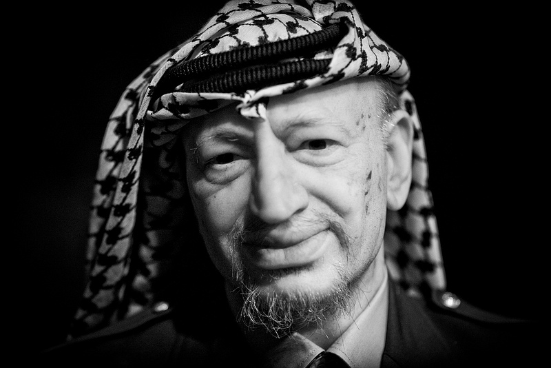 Yasser Arafat, antigo líder da Autoridade Palestiniana