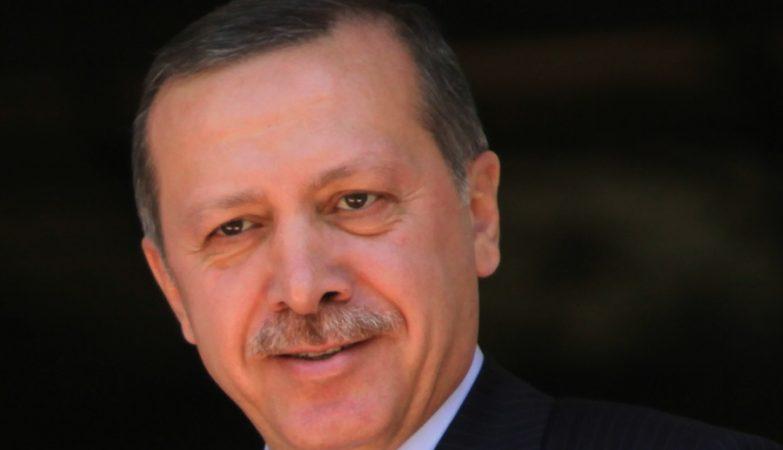 O primeiro-ministro da Turquia, Recep Tayyip Erdogan