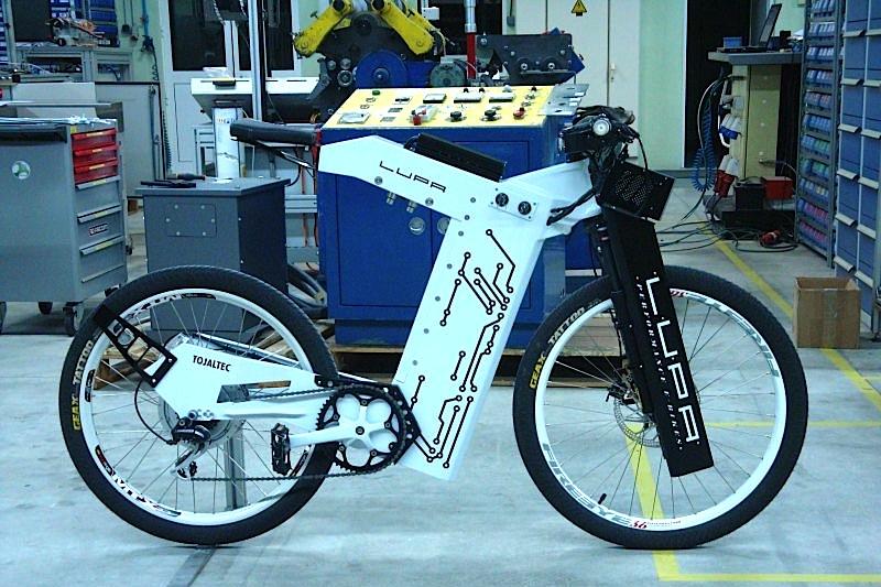 Protótipo da bicicleta híbrida LUPA (foto: Luís Pacheco / OLX)