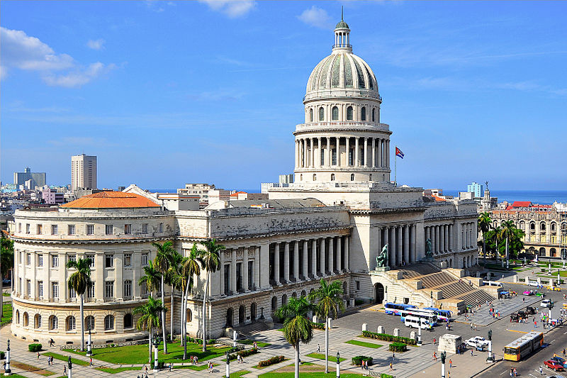 El Capitolio, em Havana, Cuba