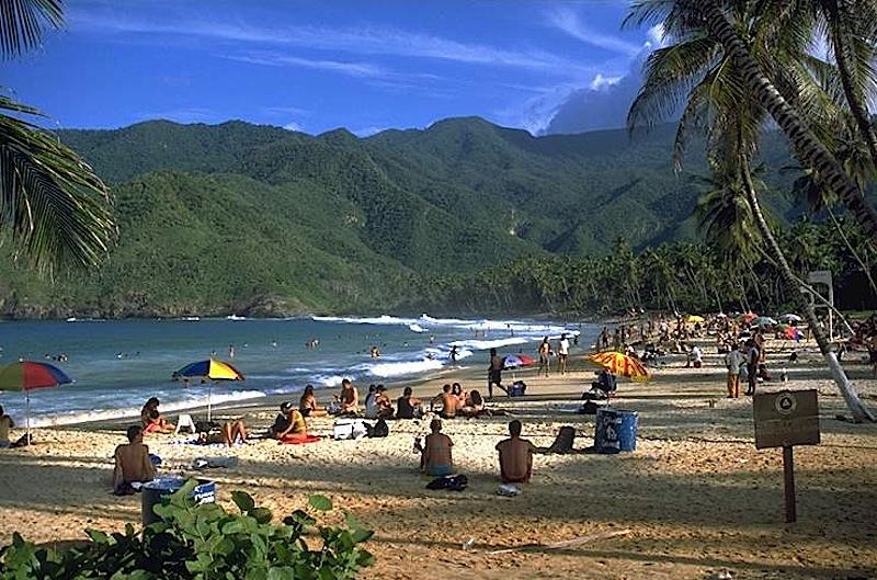 Praia de Choroni, Maracay, Venezuela