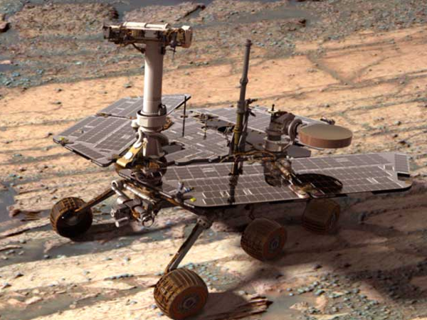 Opportunity, o Rover que a NASA levou para Marte há 10 anos
