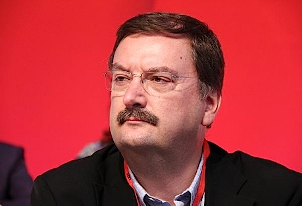 O secretário-geral da UGT, Carlos Silva,