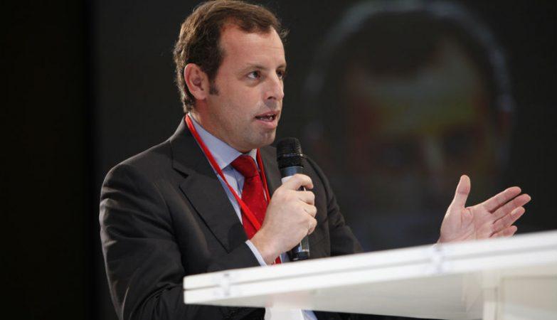 Sandro Rosell, presidente do Barcelona, demite-se