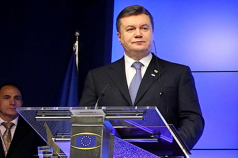 Viktor Yanukovych,  presidente da Ucrânia