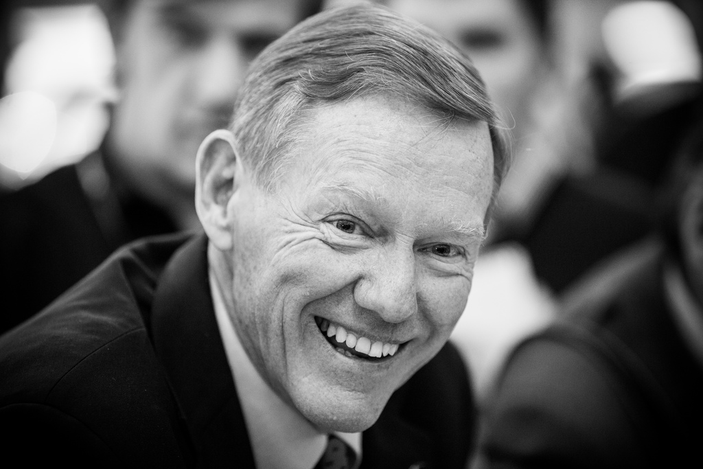 O CEO da Ford, Alan Mulally