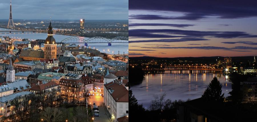 Riga e Umea, Capitais Europeias da Cultura 2014