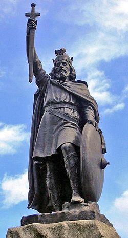 Estátua de Alfredo o Grande em Winchester