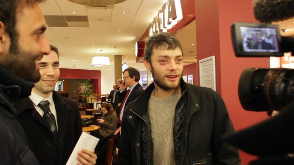 Victor Spirescu tornou-se famoso no Reino Unido