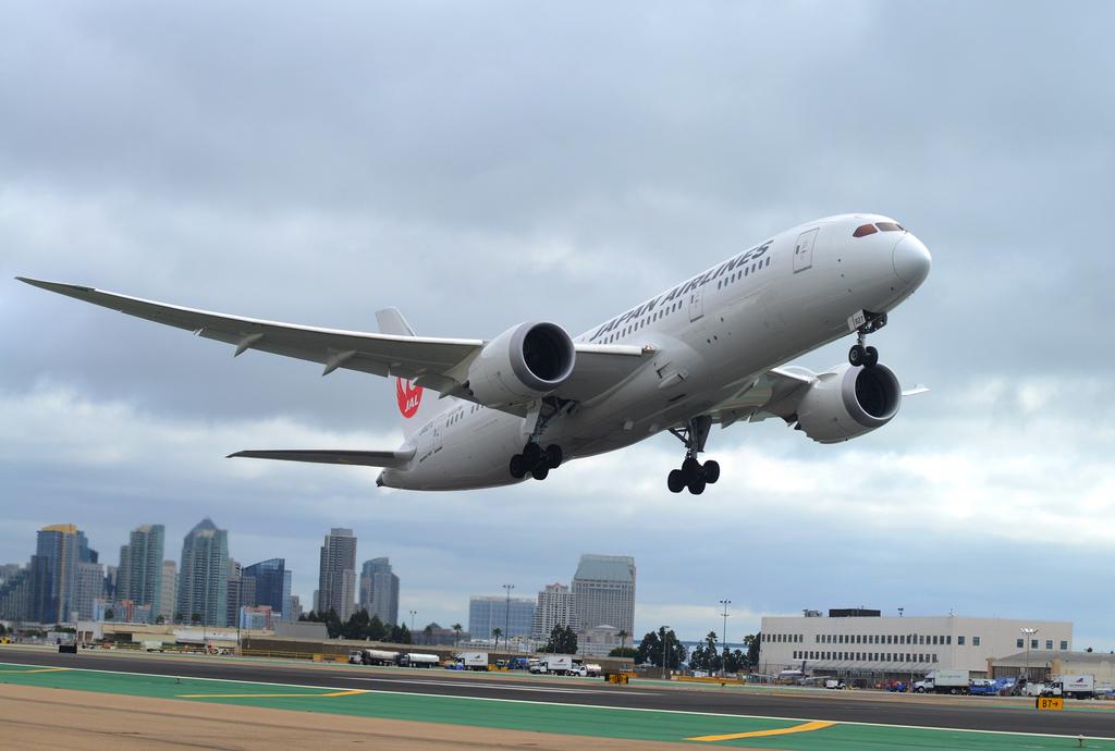 Boeing 787 Dreamliner da Japan Airlines