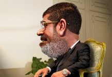 O ex-presidente do Egipto, Mohamed Morsi