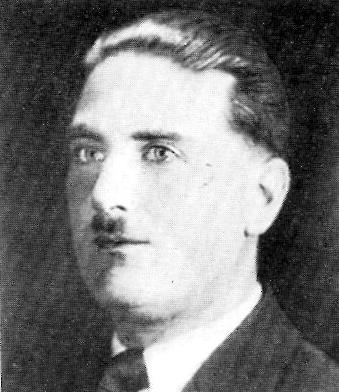 Retrato de polícia de Alfred Rouse, assassino de uma vítima desconhecida, 1931