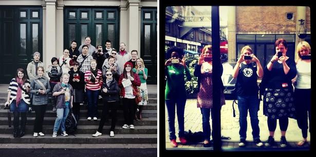InstaMeets em Melbourne e Londres
