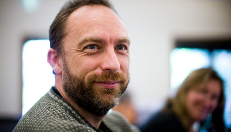 O fundador da Wikipedia, Jimmy Wales