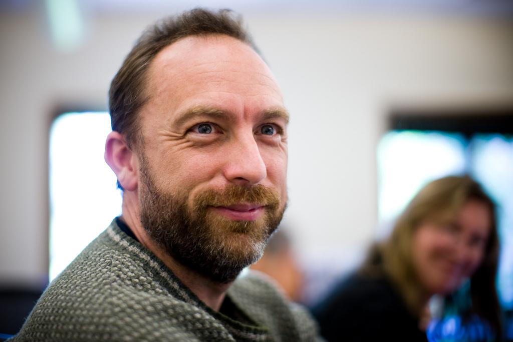 O fundador da Wikipedia, Jimmy Wales