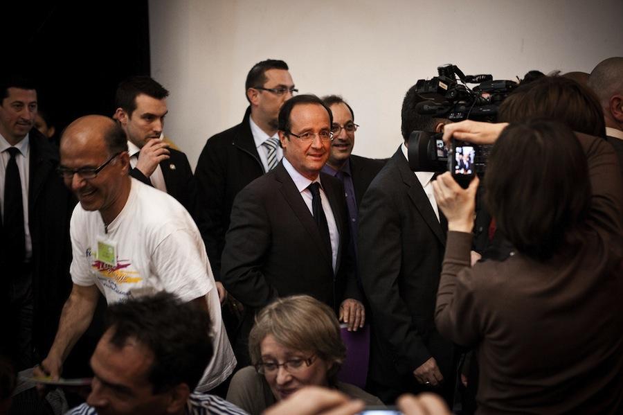 O primeiro-ministro francês François Hollande