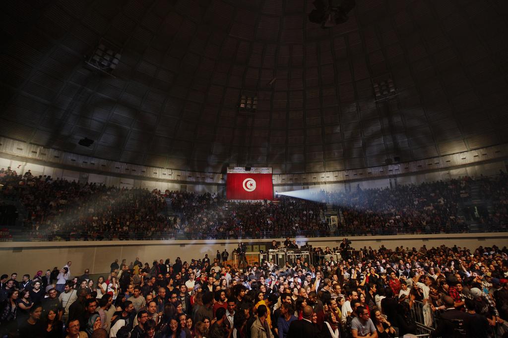 Concerto: 'Africa Celebra a Democracia' Tunis, Tunisia, 11 Novembru 2011