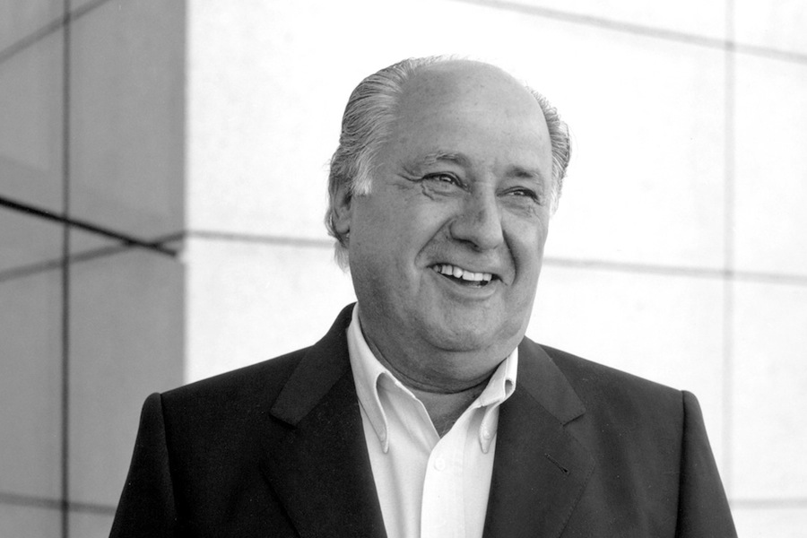 Amancio Ortega, fundador do Grupo Inditex / Zara