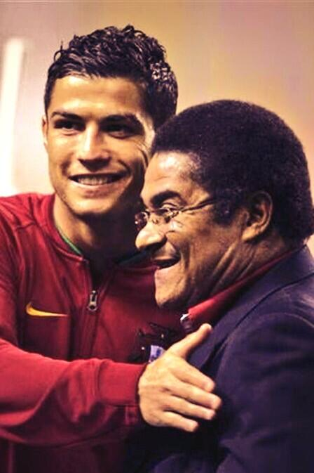 Ronaldo e Eusébio