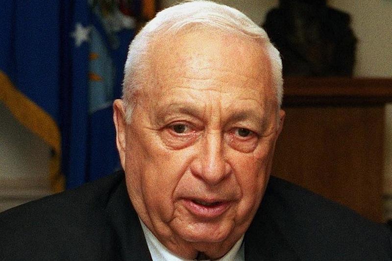 O ex-primeiro ministro de Israel, Ariel Sharon
