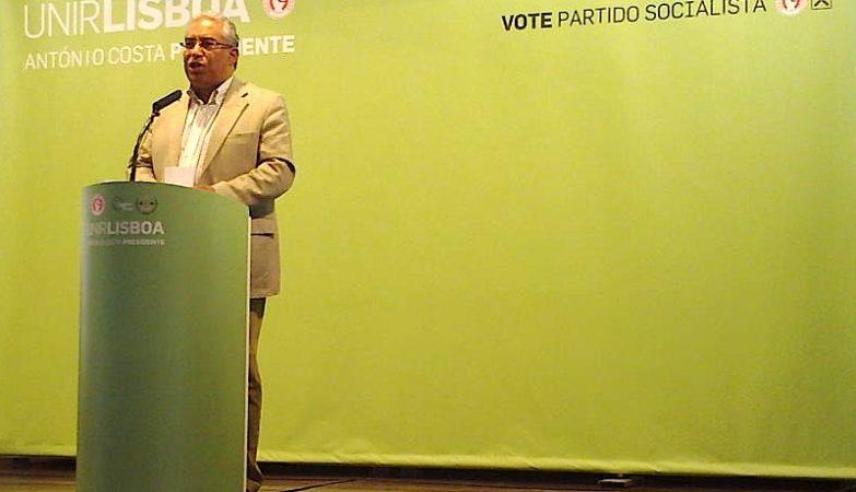 O presidente da Câmara Municipal de Lisboa, António Costa