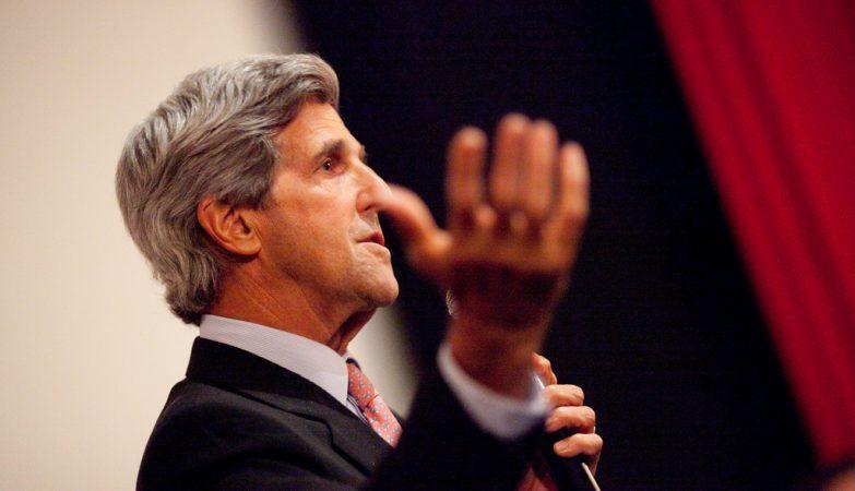 O secretário de Estado americano, John Kerry