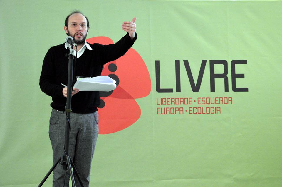 Rui Tavares, fundador do Partido Livre
