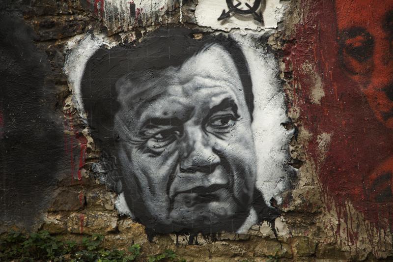 Viktor Yanukovych, presidente da Ucrânia, por Abode of Chaos