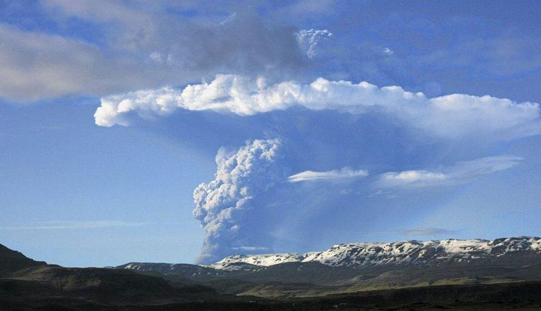 O Eyjafjallajokull lançou o caos em 2010