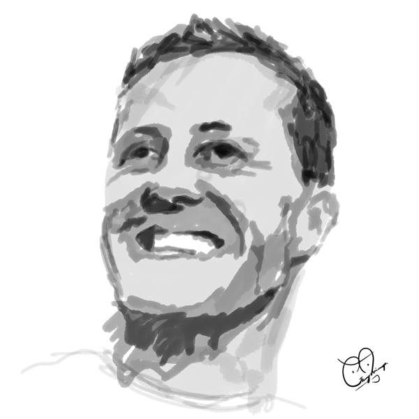 Michael Schumacher por Gary Hisanaga