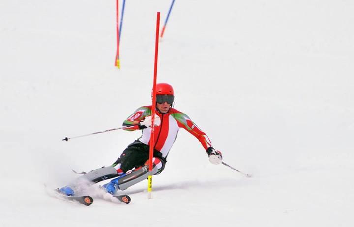 Arthur Hanse, um dos representantes de Portugal nos Jogos Olímpicos de Inverno em Sochi