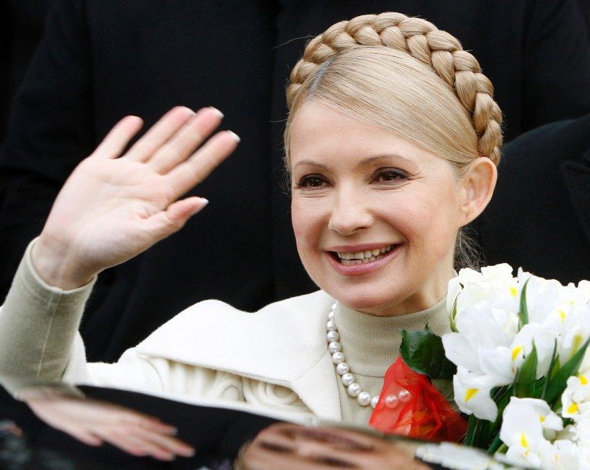 A ex-primeira-ministra da Ucrânia, Yulia Tymoshenko