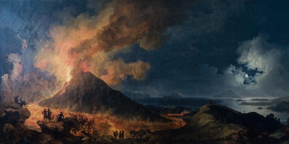 Pompeia e o Vesúvio