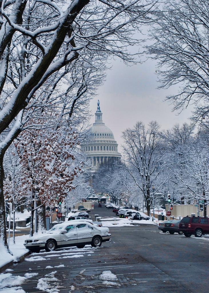 Neve em Washington, DC