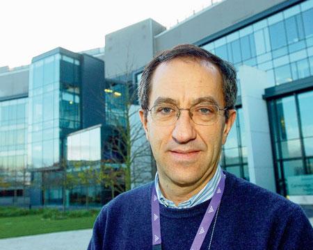 O cientista português Carlos Caldas, da Universidade de Cambridge