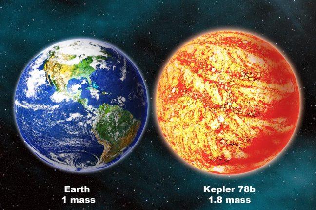 Kepler78b: exoplaneta semelhante à terra