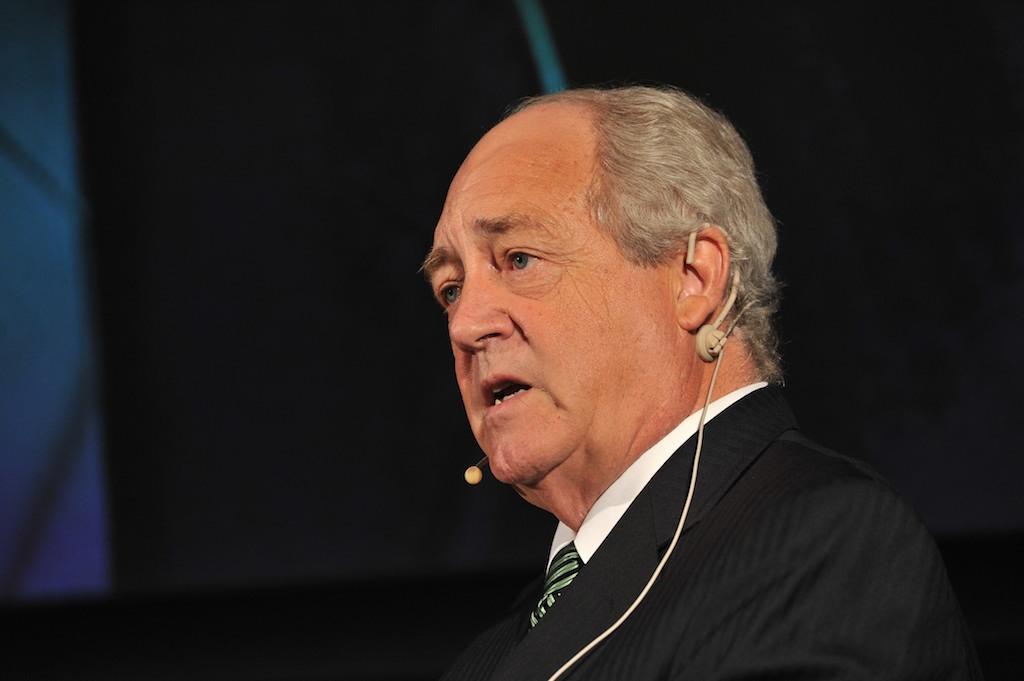 O ambientalista Patrick Moore, um dos fundadores da ONG Greenpeace