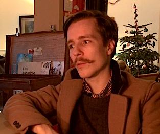 Ivan Meetin, fundador do Café Ziferblat