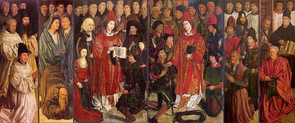 Painéis de São Vicente, tríptico de Nuno Gonçalves, 1475