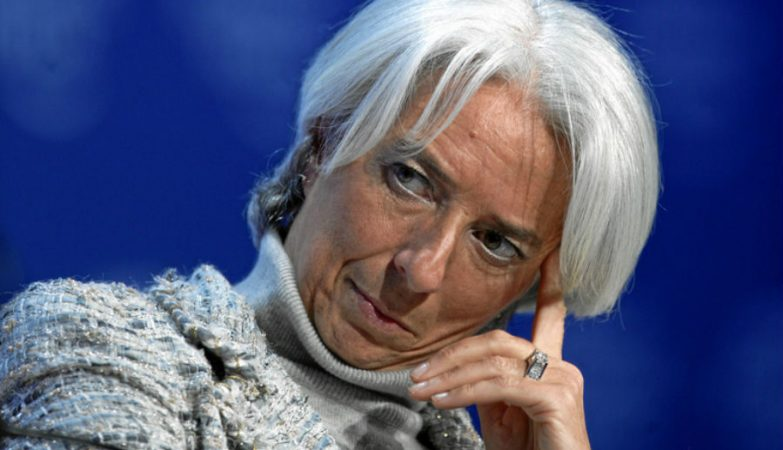 A directora-geral do FMI, Christine Lagarde