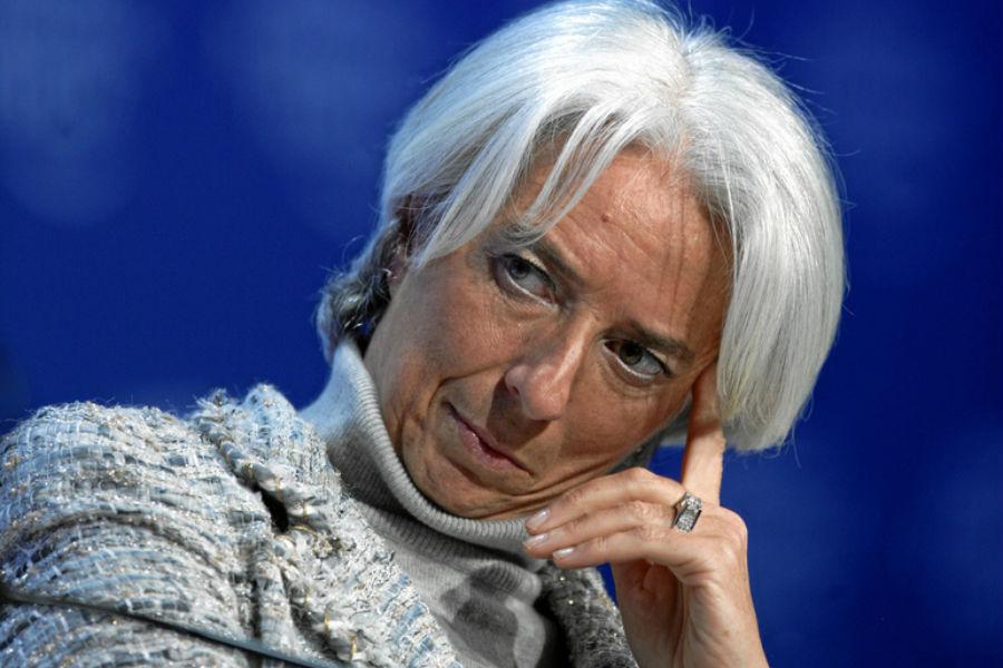 A directora-geral do FMI, Christine Lagarde