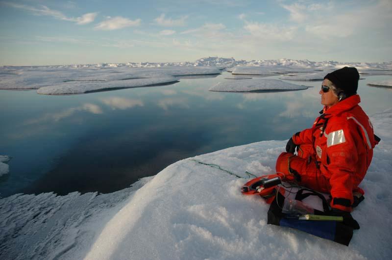 Bióloga oceanogáfica da NOAA, Sue Moore